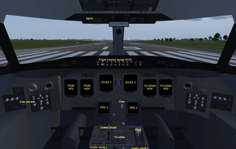 FlightGear Flight Simulator - Bombardier CRJ700 Series General